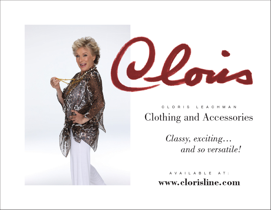 Front of Cloris postcard